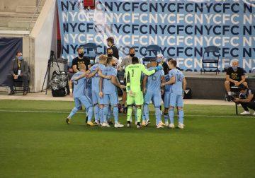 New York City FC se luce 4-0 ante el FC Cincinnati