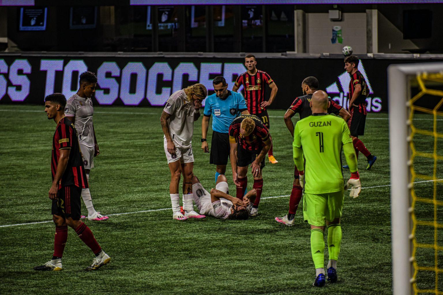 atlanta united pierde ante el inter miami 2-1 - deportes
