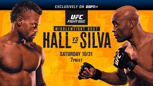 ELITE STRIKERS (#10) URIAH HALL AND ANDERSON SILVA HEADLINE UFC RETURN TO LAS VEGAS