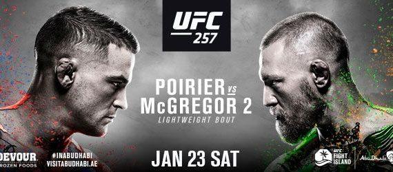UFC® 257: POIRIER vs. MCGREGOR 2