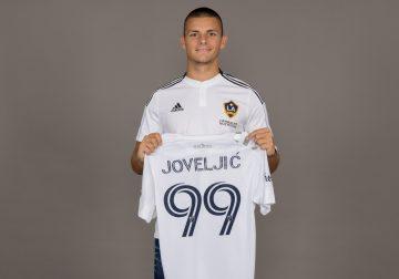 LA Galaxy adquiere al delantero serbio Dejan Joveljić del Eintracht Frankfurt de la Bundesliga