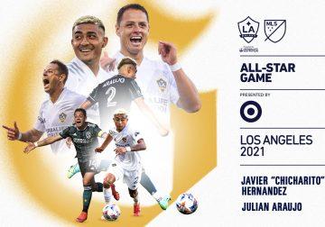 El delantero del LA Galaxy Javier Hernández y el defensa Julian Araujo han sido seleccionados para el MLS All-Star Game 2021.